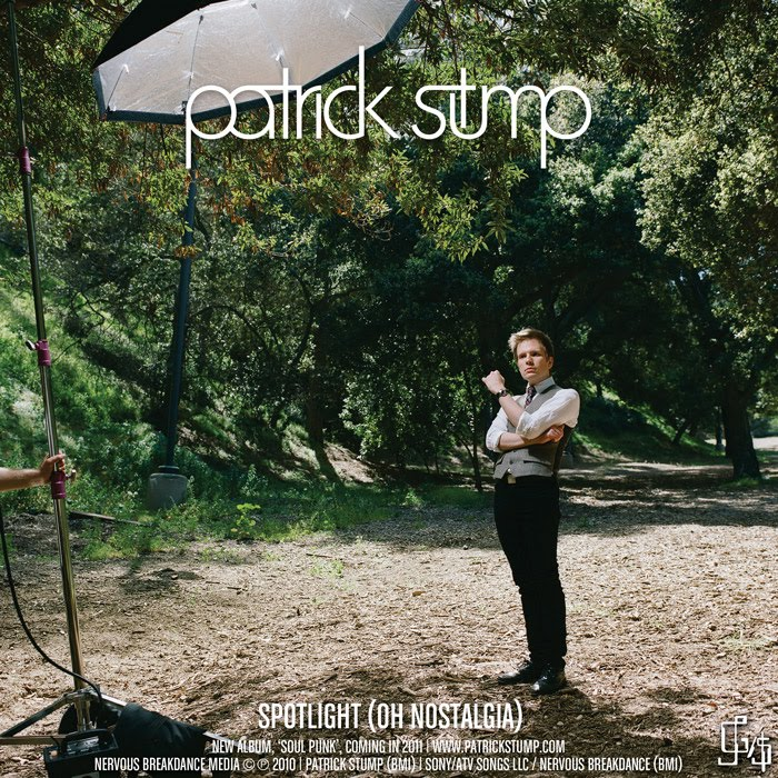 Patrick Stump - Spotlight (Oh Nostalgia) (Official Single Cover)