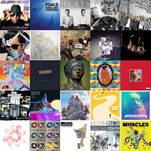 The Best Albums of 2010 (LPs, Eps, & Honorable Mentions)