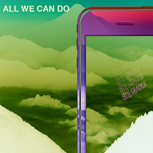 8th Grader - ALL WE CAN DO (prod by Carousel)