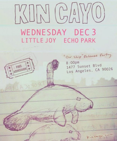 Kin Cayo release party