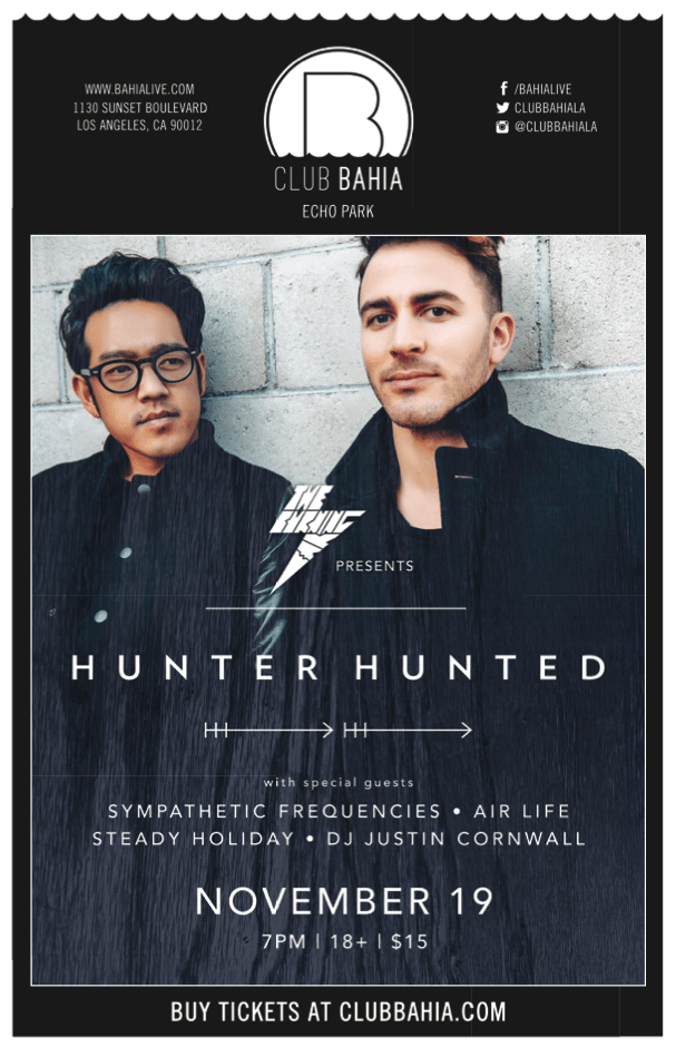 Hunter hunted at Club Bahia