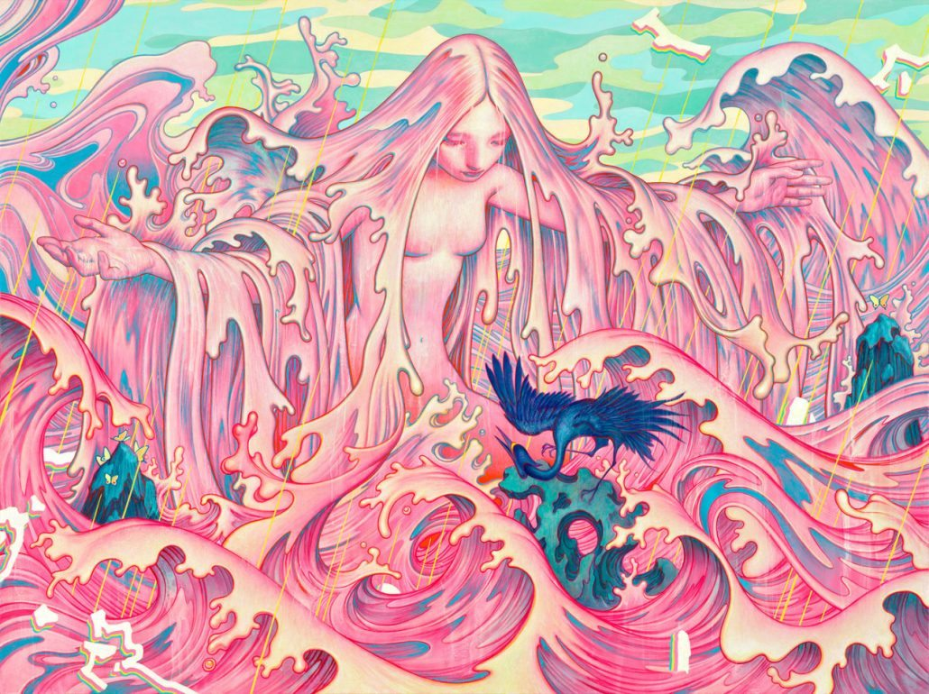 Gabrielle Alpin Miss You James Jean The Burning Ear